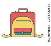 bag icon for kids | Shutterstock .eps vector #1085730689