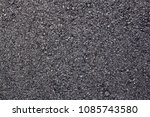 asphalt road background texture ... | Shutterstock . vector #1085743580