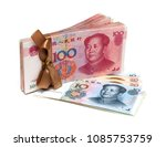 stack of renminbi  chinese yuan ... | Shutterstock . vector #1085753759