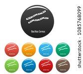 bacillus cereus icon. simple... | Shutterstock .eps vector #1085768099