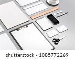 photo. template for branding... | Shutterstock . vector #1085772269