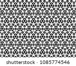 ornament with elements of black ...   Shutterstock . vector #1085774546
