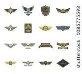 airforce navy military logo... | Shutterstock .eps vector #1085775593