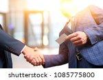 successful business people... | Shutterstock . vector #1085775800