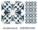 vintage tiles patterns antique... | Shutterstock .eps vector #1085801468
