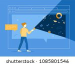 vector illustration in flat... | Shutterstock .eps vector #1085801546