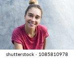 top view of beautiful amusing... | Shutterstock . vector #1085810978