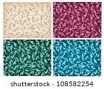 set of damask patterns | Shutterstock .eps vector #108582254