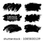 set of grunge banners. vector... | Shutterstock .eps vector #1085830139