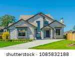 big custom made luxury house... | Shutterstock . vector #1085832188