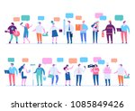 labor day. people of different... | Shutterstock .eps vector #1085849426