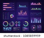 technology graphics elements... | Shutterstock .eps vector #1085859959