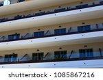 city views  facades of soller ...   Shutterstock . vector #1085867216