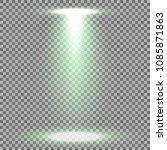 spotlight glow effect  light... | Shutterstock .eps vector #1085871863