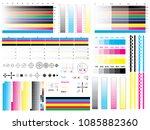 cmyk standard offset vector...   Shutterstock .eps vector #1085882360