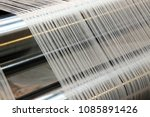 Weaving Loom At A Textile...