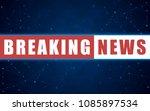 vector news background ...   Shutterstock .eps vector #1085897534