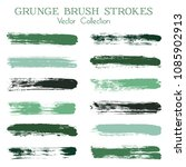 watercolor  ink or paint brush... | Shutterstock .eps vector #1085902913