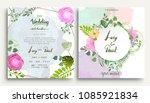 wedding invitation  invitation...   Shutterstock .eps vector #1085921834