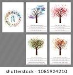 a scalable vector calendar for... | Shutterstock .eps vector #1085924210