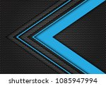 abstract blue arrow speed... | Shutterstock .eps vector #1085947994