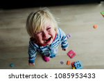 crying child  stress  pain ... | Shutterstock . vector #1085953433