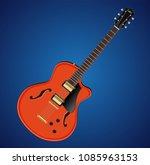 vector electric hollow body... | Shutterstock .eps vector #1085963153
