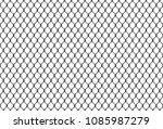 rabitz chain link fence... | Shutterstock .eps vector #1085987279