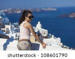 beautiful girl posing in... | Shutterstock . vector #108601790