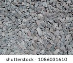 crushed stone. the background... | Shutterstock . vector #1086031610