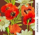 art vintage blurred colorful...   Shutterstock . vector #1086040514