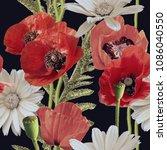 art vintage blurred colorful...   Shutterstock . vector #1086040550