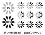 percentage diagrams set ...