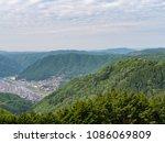 bitchu matsuyama castle is both ...   Shutterstock . vector #1086069809