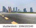 panoramic skyline and buildings ...   Shutterstock . vector #1086102140