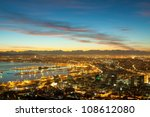 dawn on the coast of cape town... | Shutterstock . vector #108612080