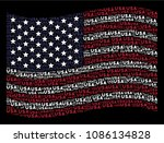 usa text items are organized... | Shutterstock .eps vector #1086134828