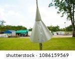 protection snake for post of... | Shutterstock . vector #1086159569