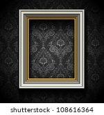 picture frame wallpaper... | Shutterstock .eps vector #108616364