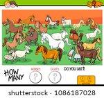cartoon illustration of... | Shutterstock .eps vector #1086187028