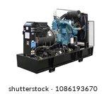mobile  portable mobile diesel... | Shutterstock . vector #1086193670