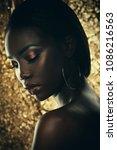 fashion studio portrait of an... | Shutterstock . vector #1086216563