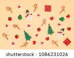 paper craft for seasonal. on... | Shutterstock . vector #1086231026
