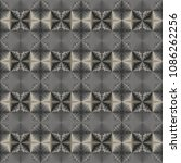 metal seamless pattern with... | Shutterstock . vector #1086262256