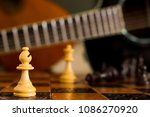chess photographed on a... | Shutterstock . vector #1086270920