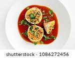stuffed with rice and spinach...   Shutterstock . vector #1086272456