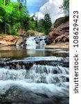 chartakarn waterfall inthailand.   Shutterstock . vector #108629423
