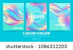 liquid and fluid colors... | Shutterstock .eps vector #1086312203