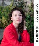 sexy beauty girl  fashion...   Shutterstock . vector #1086329780