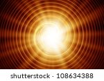Abstract Sun  Emitting Rays Of...
